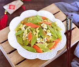 #餐桌上的春日限定#十分钟家常菜~莴笋炒鸡蛋的做法