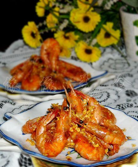 蒜蓉椒盐香酥虾的做法_【图解】 蒜蓉椒盐香酥虾怎么