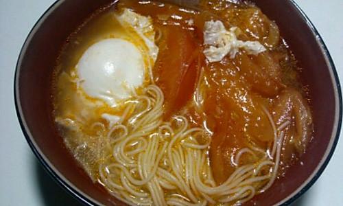 十分钟做西红柿鸡蛋挂面的做法