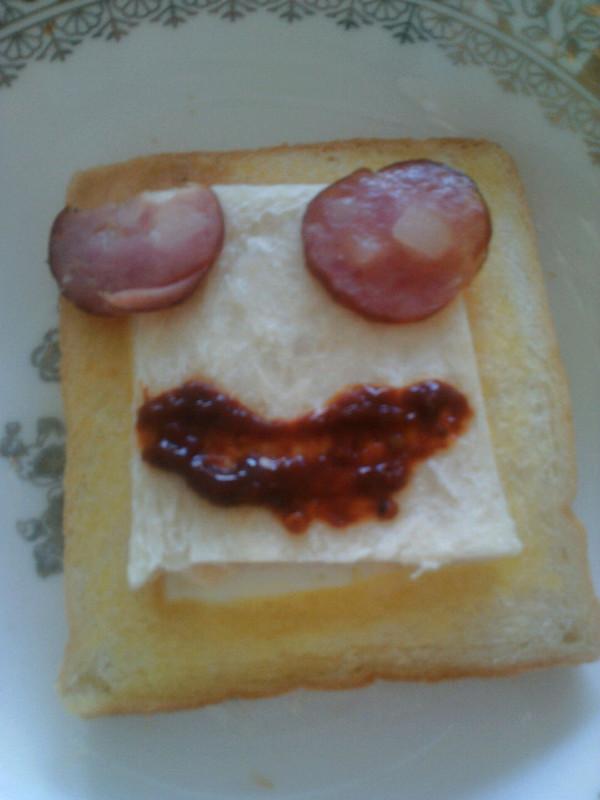 简易早餐o( =•ω•= )m的做法