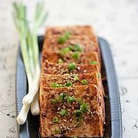 """巧用""""叮叮""""----微波烤豆腐 的做法图解4"""