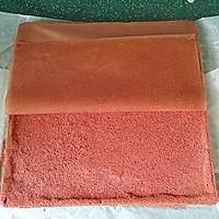 红丝绒蛋糕卷#相约MOF#的做法图解16