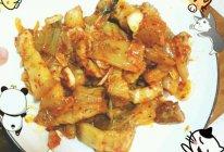 泡菜炒五花肉的做法