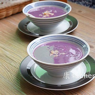 紫薯薏米银耳羹