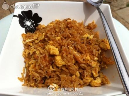 红咖喱椰奶炒饭