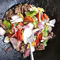 酱香小炒牛肉的做法图解12