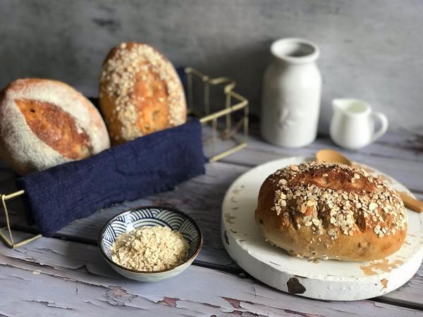 谷麦面包的做法