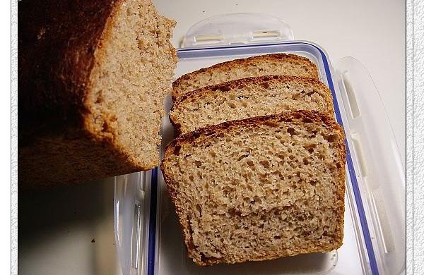 5分钟面包全麦软吐司