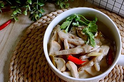 泰式酸辣鸡爪汤 | Spicy Chicken Soup