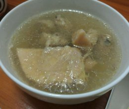 鸡肉榴莲汤的做法