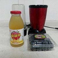 自制健康减肥饮:蓝莓果醋饮的做法图解1