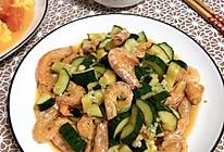 黄瓜拌虾干的做法