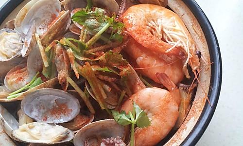 海鲜砂锅的做法