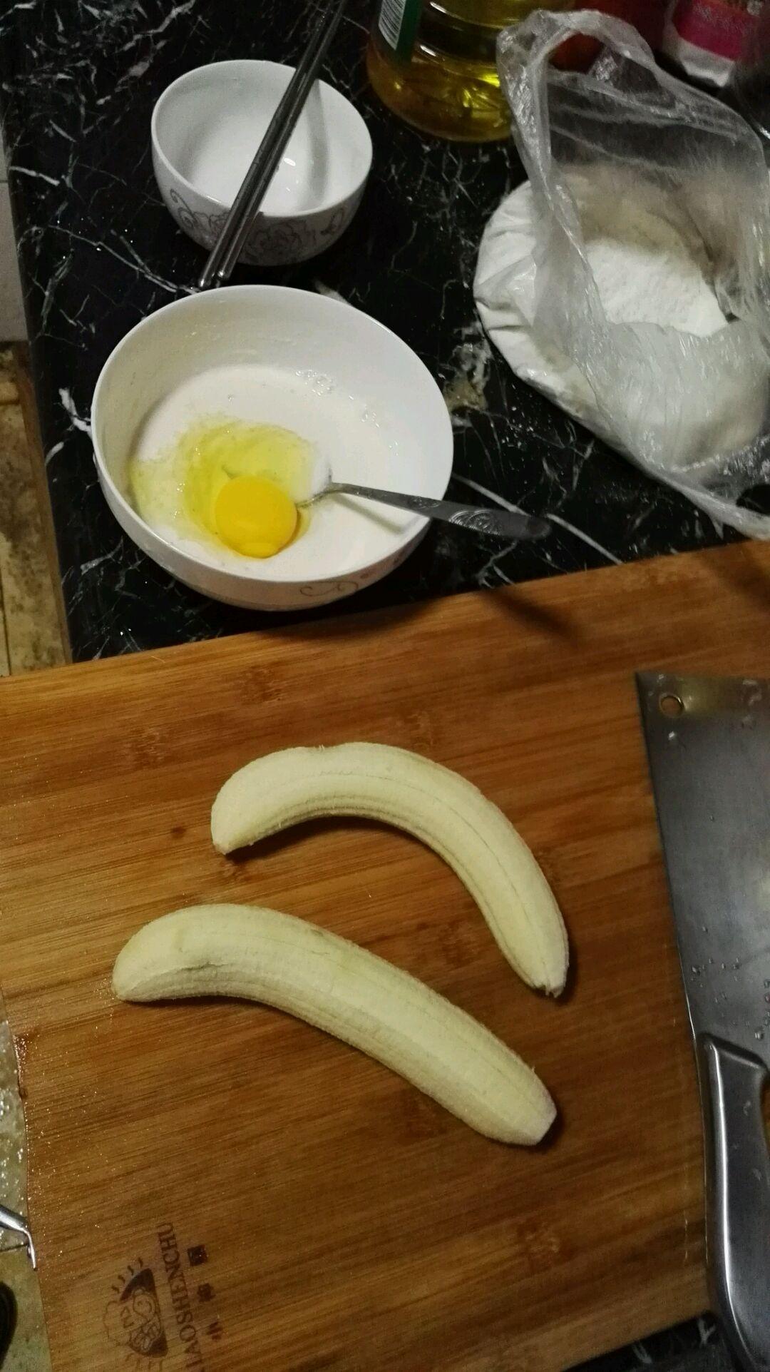 黏土香蕉的制作步骤