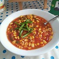 减肥餐  玉米番茄汤的做法图解6