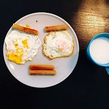 经典早餐搭配 颜文字