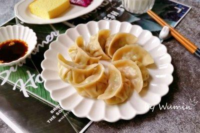 西葫芦虾仁蒸饺