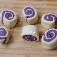 紫薯馒头的做法图解12