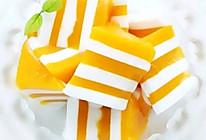 椰奶芒果糕的做法