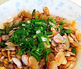 葱油海瓜子(扁蛏)的做法