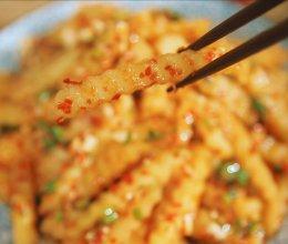香辣土豆条|二叔食集的做法