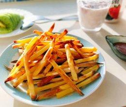 无油无忧——烤薯条的做法