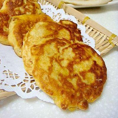 发面玉米饼