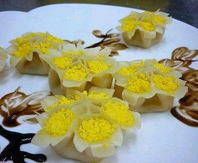 牡丹蒸饺(手把手教你包饺子)