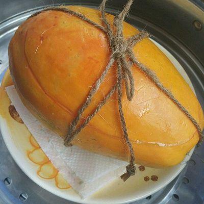 银耳木瓜盅的做法_【图解】银耳木瓜盅怎么做好吃