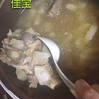 猪骨炖白萝卜红枣枸杞汤电压力锅的做法图解2