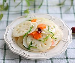 节后解腻爽口凉菜——酸甜炝拌莲藕的做法