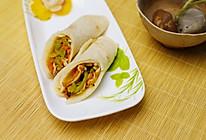 五彩韩式煎饼的做法