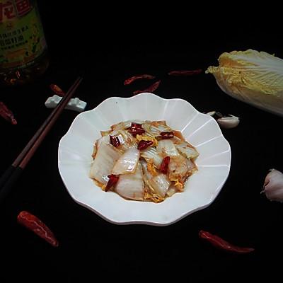 醋溜白菜#金龙鱼营养强化维生素A新派菜油#的做法 步骤10