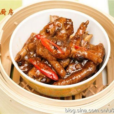 【曼步厨房】粤式早茶点心 - 豉汁蒸凤爪