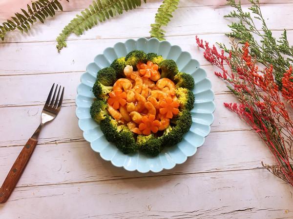 #肉食者联盟#西兰花蒸虾仁的做法