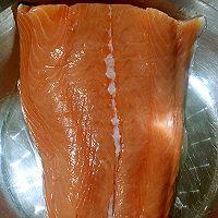 中式煎三文鱼的做法图解2