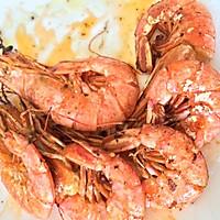 橄榄油煎海虾