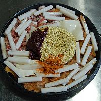 韩式年糕火锅的做法图解4