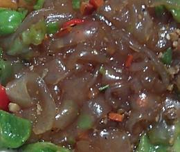 辣椒炒拉皮的做法