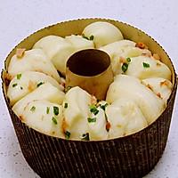香葱手撕面包#东菱魔法云面包机#的做法图解8