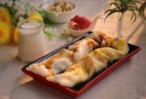 鸡蛋、肉末肠粉早餐#美的早安豆浆机#的做法