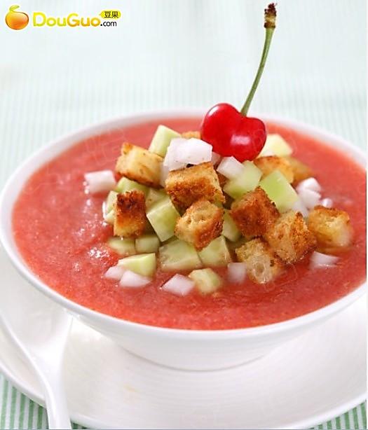 西红柿凉汤的做法