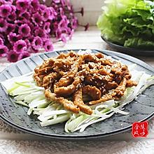 生菜搭配京酱肉丝,大快朵颐营养美味!#我要上首页下饭家常菜#