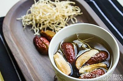 下午茶时光之《暖胃》— —黑糖姜枣茶