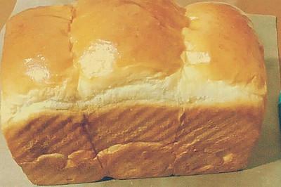 奶香土司(面包机+烤箱的完美组合)