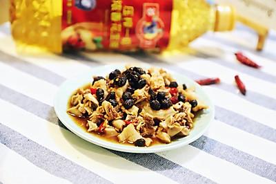 电饭锅版豆豉香蒸大肠#多力金牌大厨带回家#