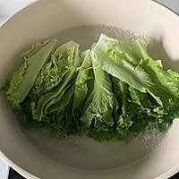 蚝油生菜的做法图解6