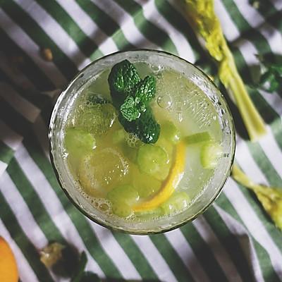 芹菜柠檬鸡尾酒【安卡西厨】