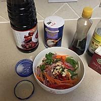 10分钟快手菜,花椒油凉拌五彩豆芽的做法图解6