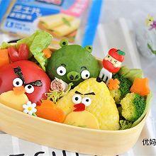 愤怒的小鸟便当盒#百吉福食尚达人#